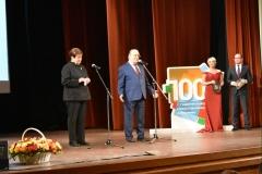 Торжественное собрание, посвященное 100-летию студенческого профсоюзного движения